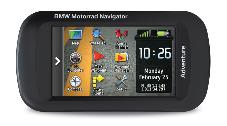 bmw navigator adventure ein montana f r bmw motorr der. Black Bedroom Furniture Sets. Home Design Ideas
