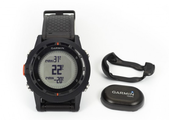 Garmin Fenix mit Tempe Sensor