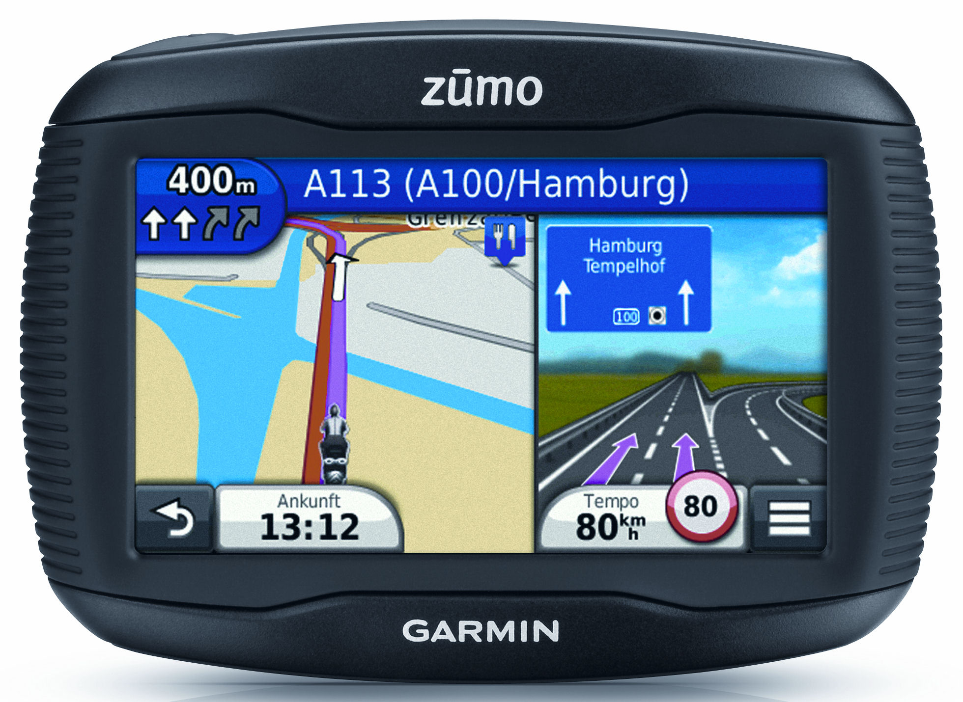 garmin zumo 350lm im test. Black Bedroom Furniture Sets. Home Design Ideas