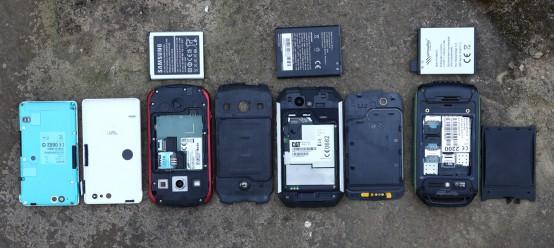 Outdoor Smartphones offen