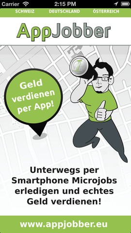 appjobber unterwegs geld verdienen mit dem smartphone navigation gps. Black Bedroom Furniture Sets. Home Design Ideas