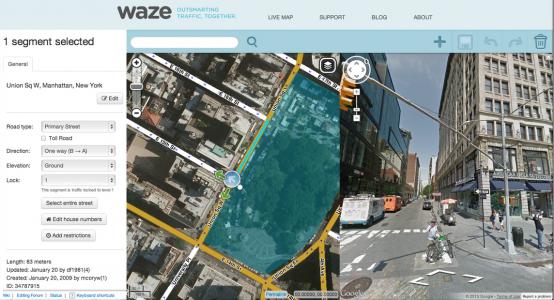 Waze-Editor