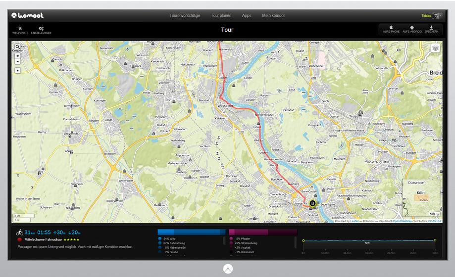 Komoot europaweit › pocketnavigation.de | Navigation | GPS | Blitzer ...