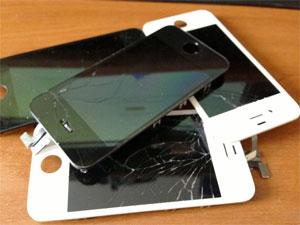 Defekte_iphone_displays