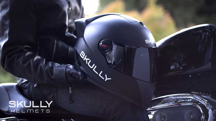 skully p1 android motorradhelm mit navigation und kamera. Black Bedroom Furniture Sets. Home Design Ideas