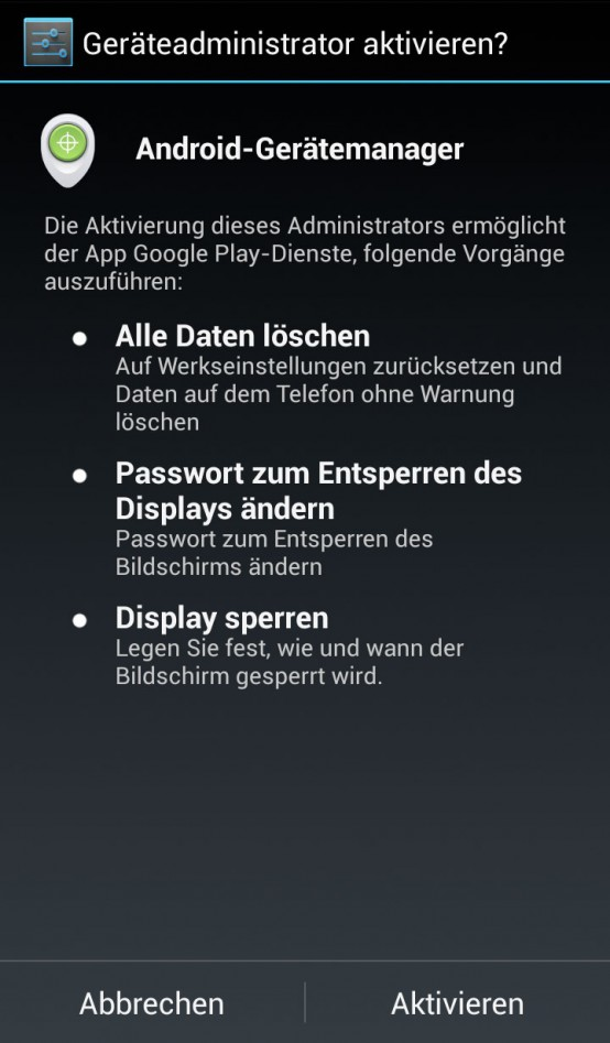 Android_Gerätemanager