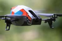 Die Frontkamera der Parrot AR macht Videos in Full-HD Auflösung. Foto: spotogrpahy/Sebastian Abel