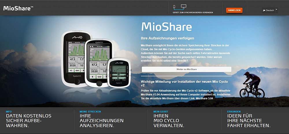 Neue Software Für Mio Cyclo Geräte Pocketnavigationde