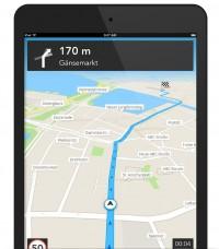 Skobbler-Navigation