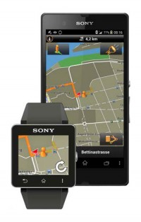 mwc garmin app f r xperia smartphones und sony smartwatch. Black Bedroom Furniture Sets. Home Design Ideas