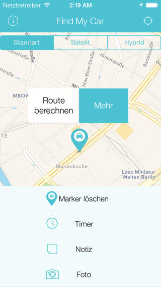 find my car app iphone find my car das eigene auto mit dem iphone wiederfinden 16916