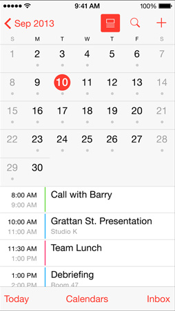 iOS7.1_Kalender