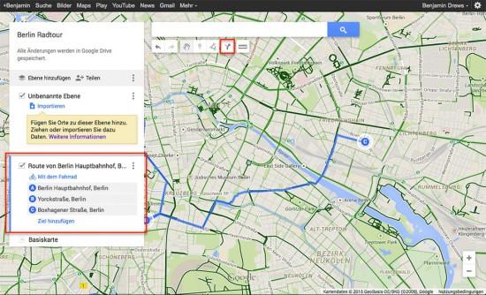 Google-My-Maps-Routenplaner