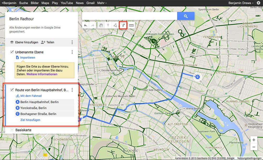 google maps routen f r gps ger te exportieren navigation gps blitzer. Black Bedroom Furniture Sets. Home Design Ideas