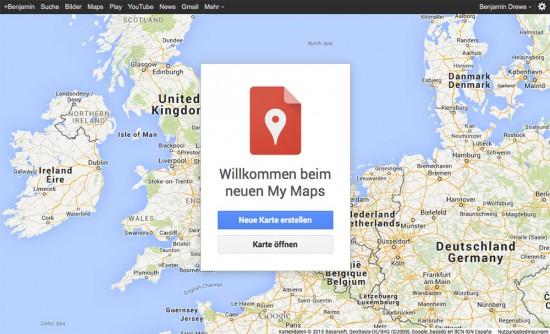 Google-My-Maps-Willkommen