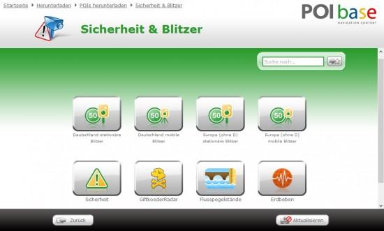 POIbase_Sicherheit_Blitzer