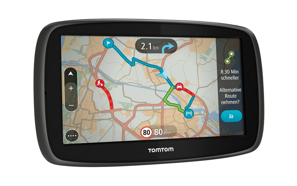TomTom_GO60_Frontansicht_links_Traffic
