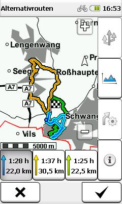 Falk ibex lux premium outdoor mapa Benelux 2014