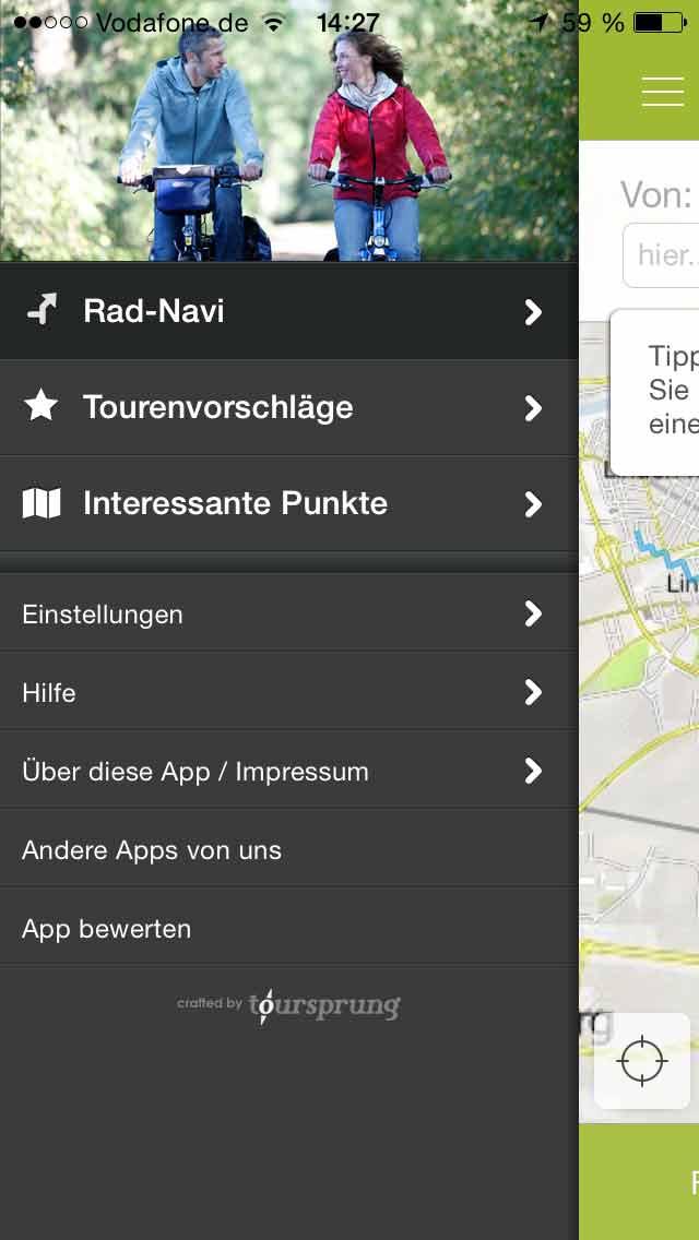 radroutenplaner niedersachsen mit app navigation gps blitzer pois. Black Bedroom Furniture Sets. Home Design Ideas