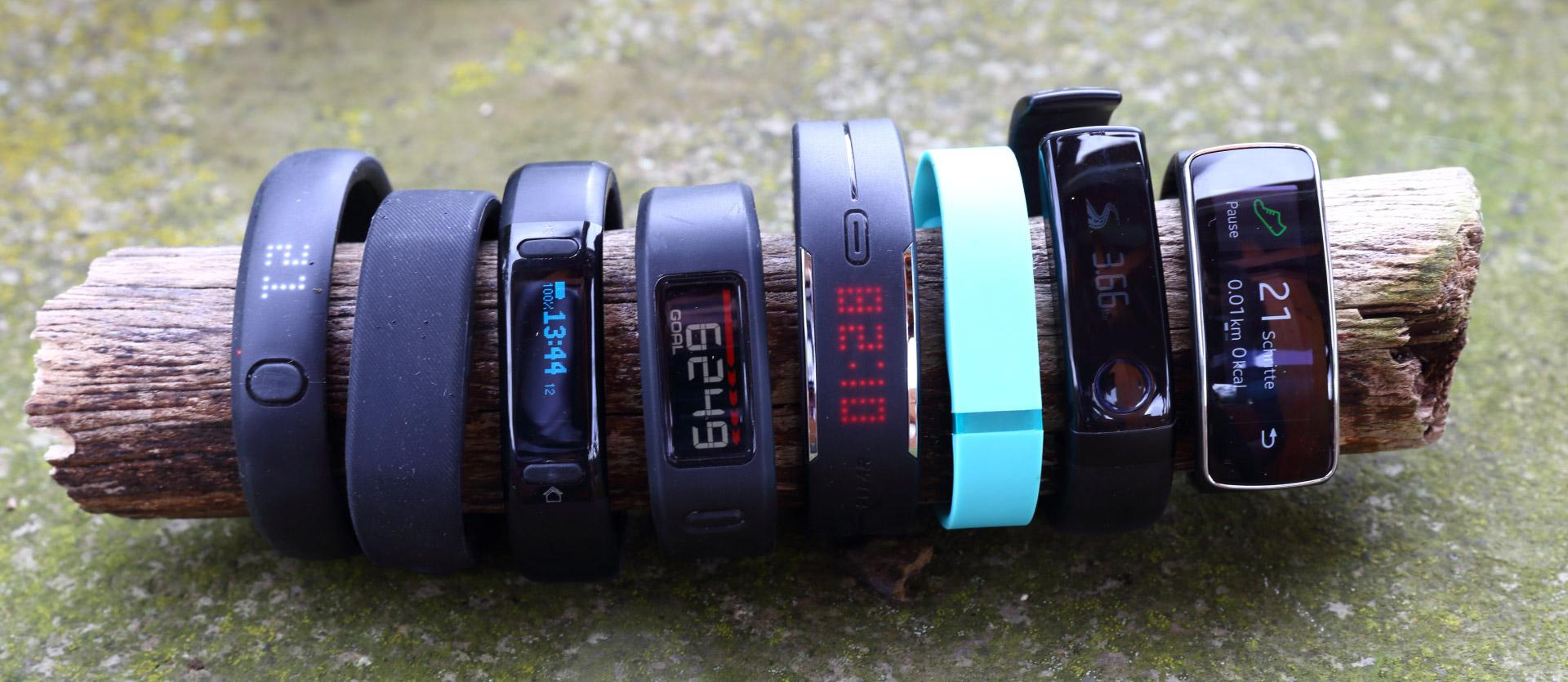 Acht Fitness-Tracker Armbänder im Test › pocketnavigation ...