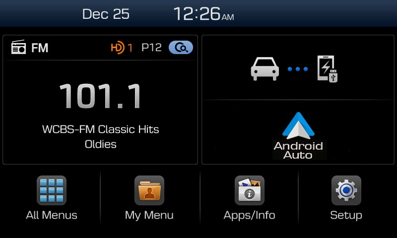 Android Auto im Hyundai Display Audio