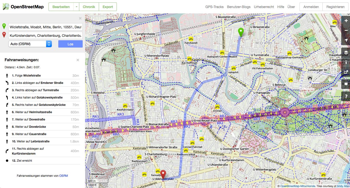 OSM-Routenplaner