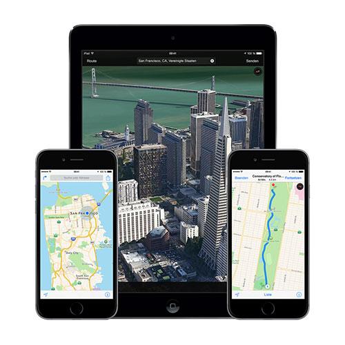 Apple-iOS-Karten-App