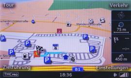 POIs im Audi A3