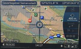 POIs im Audi A8