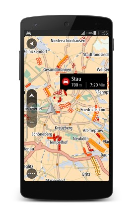 TomTom GO fuer Android_TomTom Traffic
