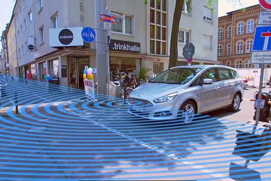 Ford S-Max plit-View-Kamera
