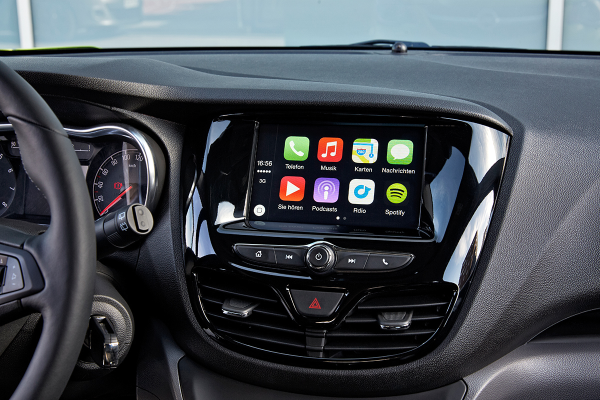 Opel Unterst Tzt Android Auto Und Apple Carplay