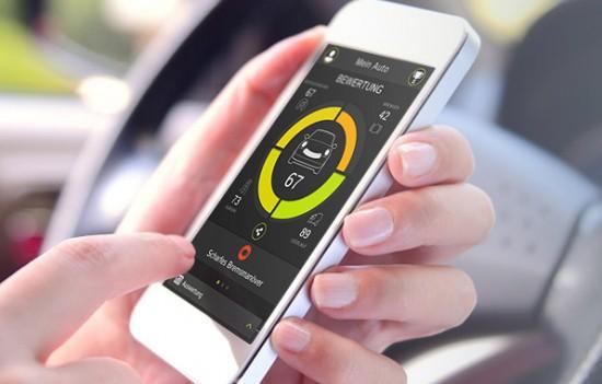 TomTom Curfer App Bedienung im Auto