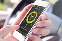 TomTom Curfer App im Auto