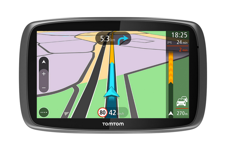 tomtom trucker 6000 neues navi f r lkw und busfahrer navigation gps. Black Bedroom Furniture Sets. Home Design Ideas