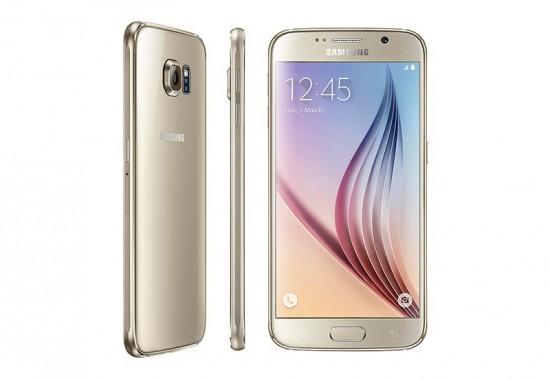 Samsung Galaxy S6 in Gold