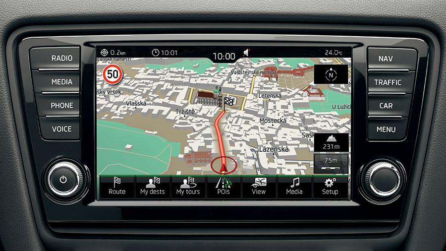 Verbesserte Infotainment Und Navigationssysteme F 252 R Den