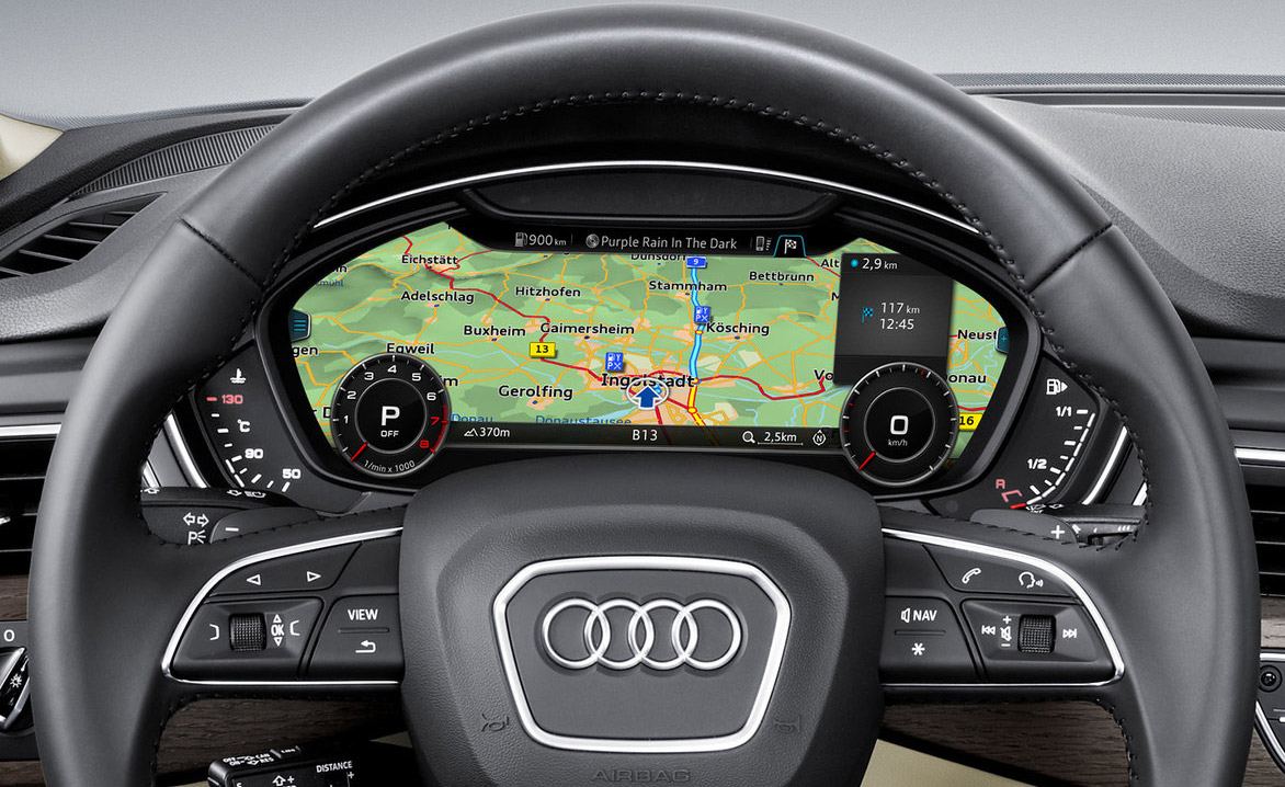 audi a4 und audi a4 avant mit erweitertem infotainment system navigation. Black Bedroom Furniture Sets. Home Design Ideas