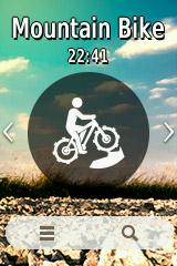 Garmin eTrex Touch 35 MTB Profil