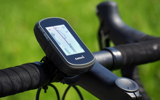 Garmin eTrex Touch 35 am Rennrad