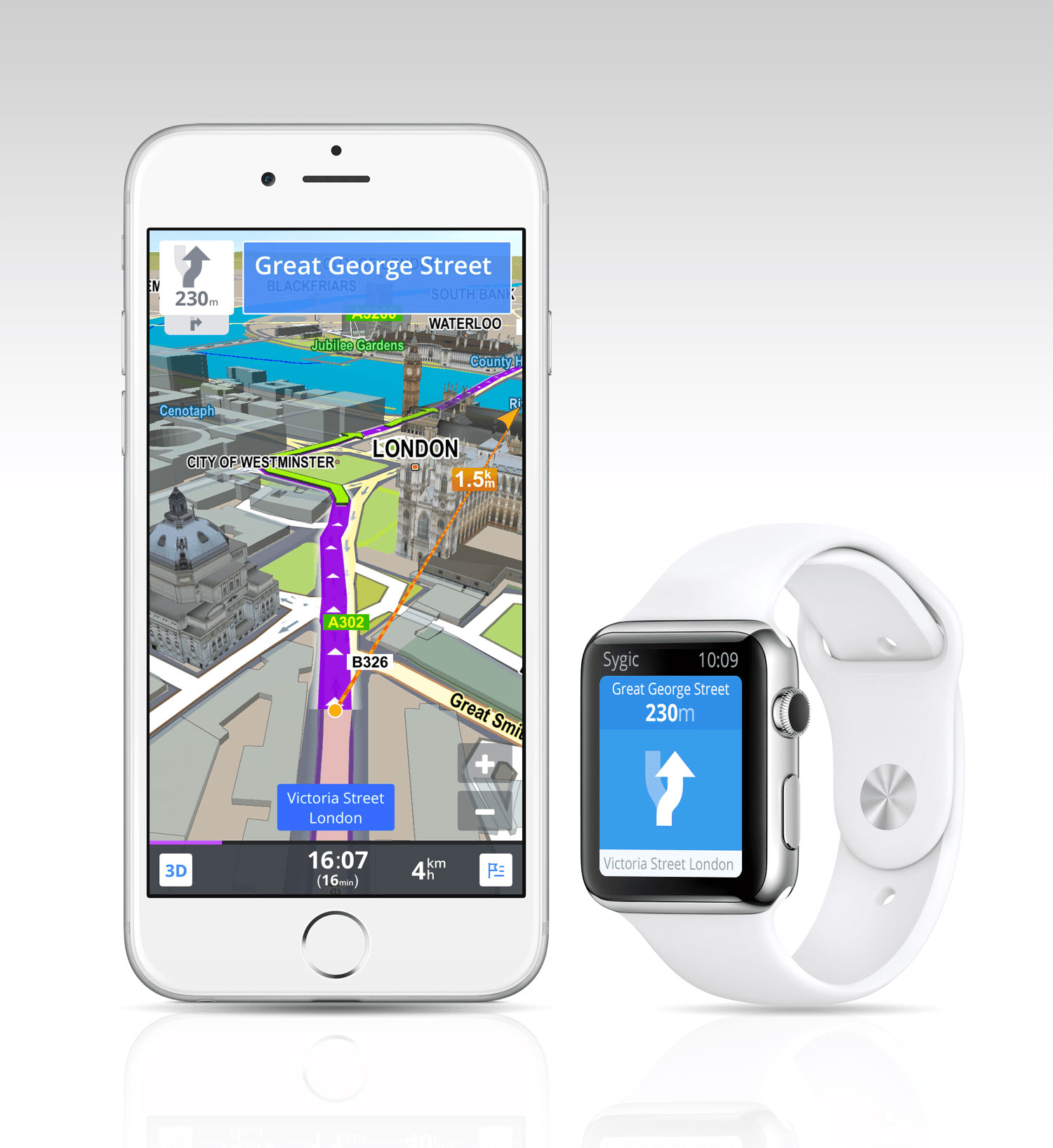 how to use apple watch gps
