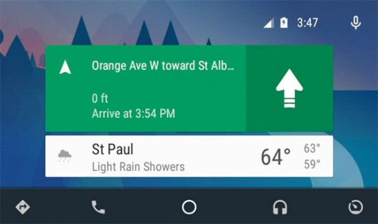 Android-Auto-Update-Navigation