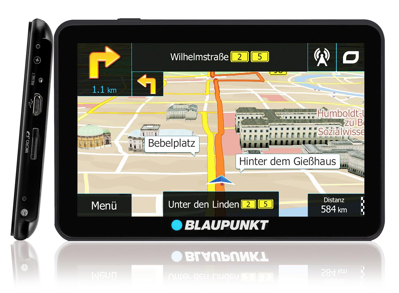 blaupunkt setzt mit neuer travelpilot serie auf igo navigation gps. Black Bedroom Furniture Sets. Home Design Ideas