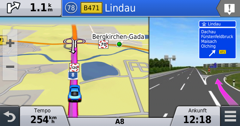 Garmin nüviCam PhotoReal Junction View