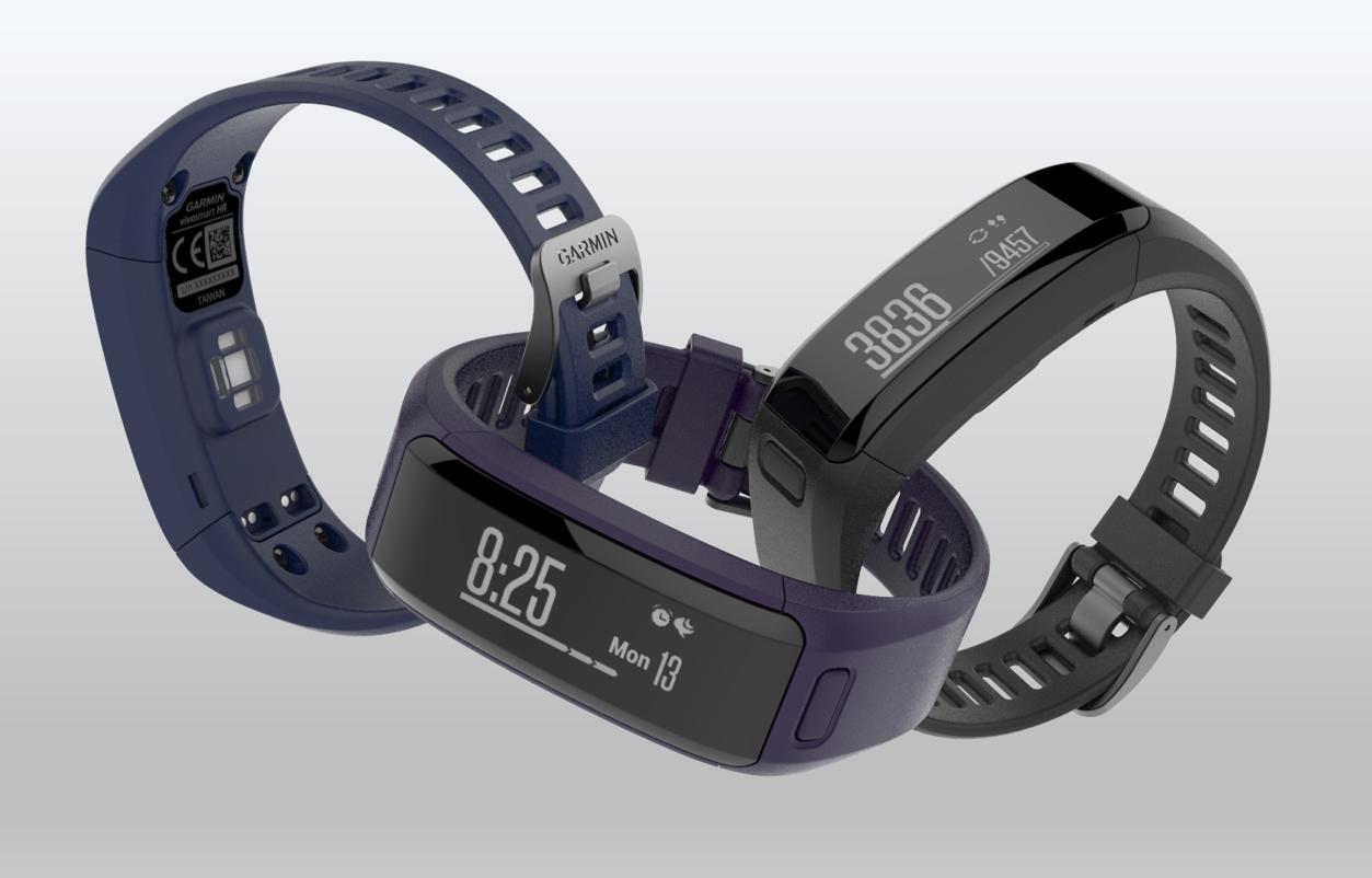 Garmin vivosmart HR: Fitness-Armband mit ...