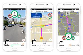 MapTrip Software für Android
