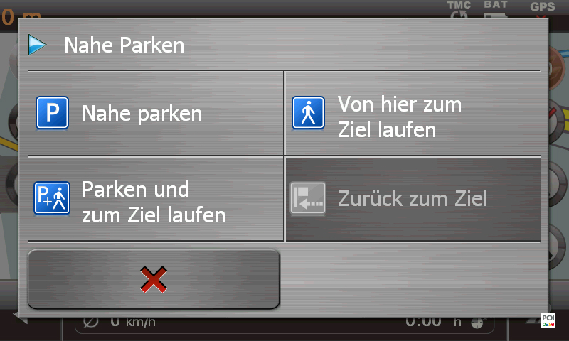 Medion GoPal E5470 EU+ Parkassistent