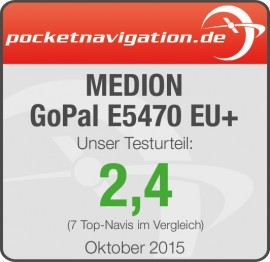 Testurteil_kompakt_Vergleich_MEDION_GoPal_E5470_EU