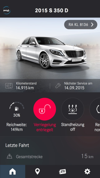 mercedes connect me app nutzt tomtom dienste navigation gps blitzer. Black Bedroom Furniture Sets. Home Design Ideas