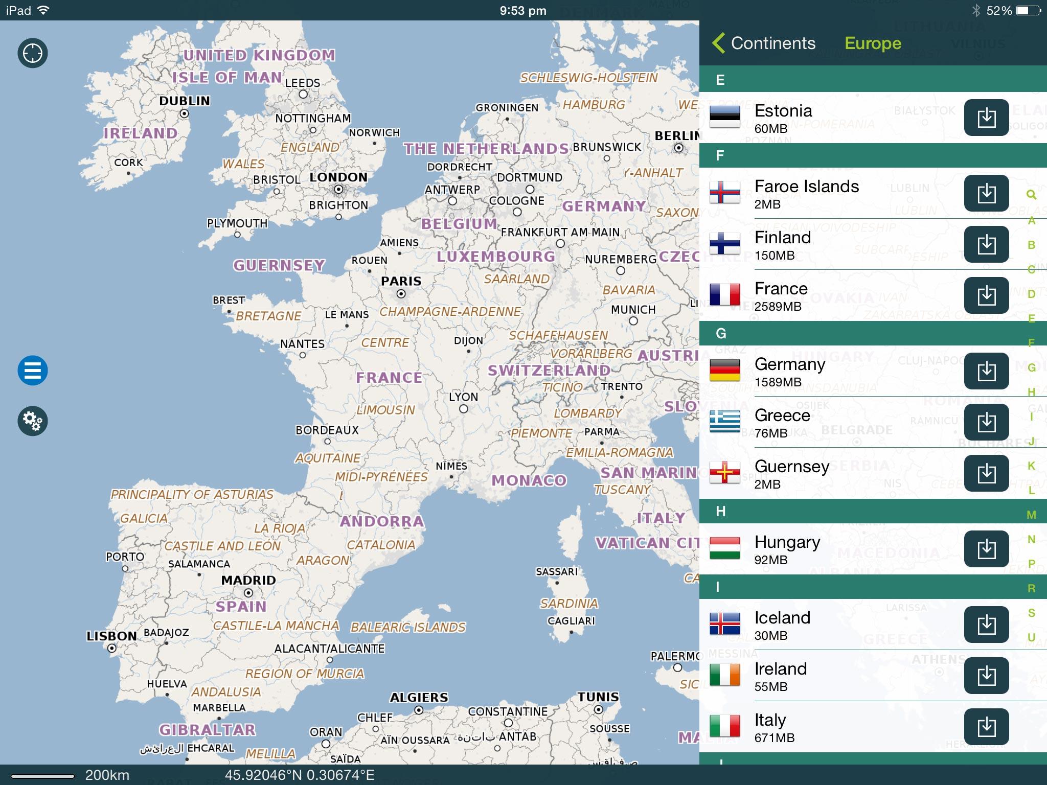 Openstreetmap App Ios Offline MAPSME Offline Map Nav on the App